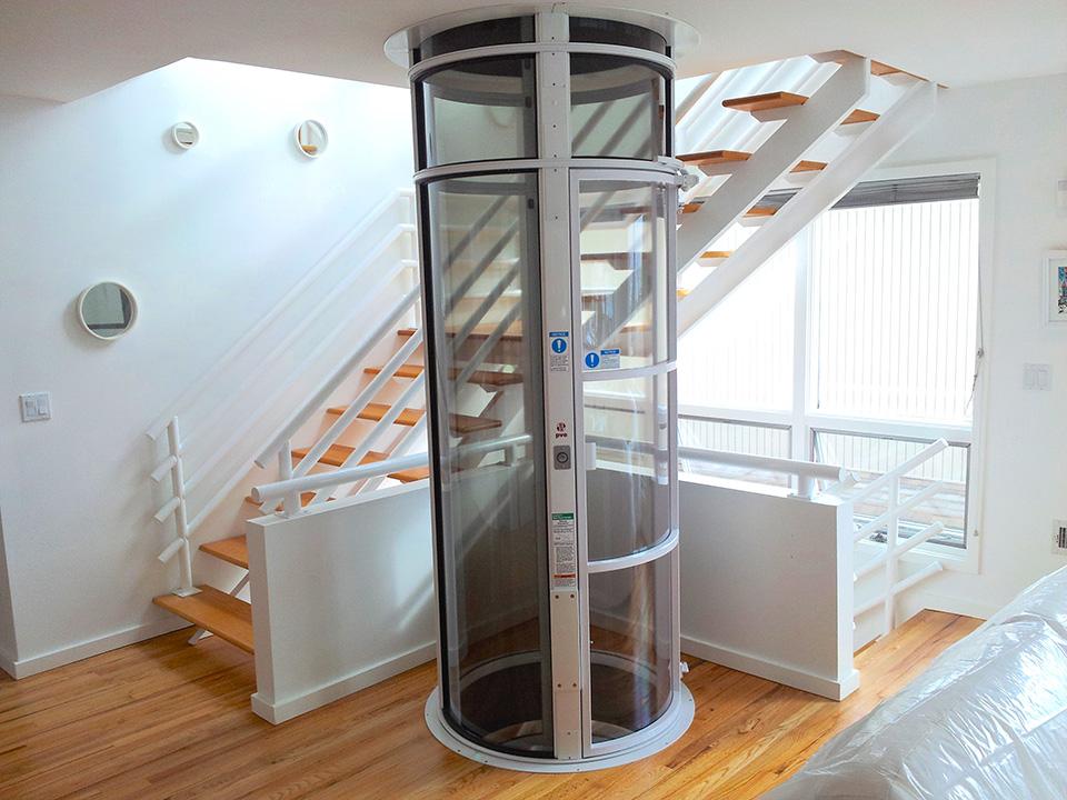ascenseur pneumatique twin luxe ascenseur. Black Bedroom Furniture Sets. Home Design Ideas